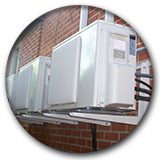 Mitsubishi-Outdoor-Ductless-condensers