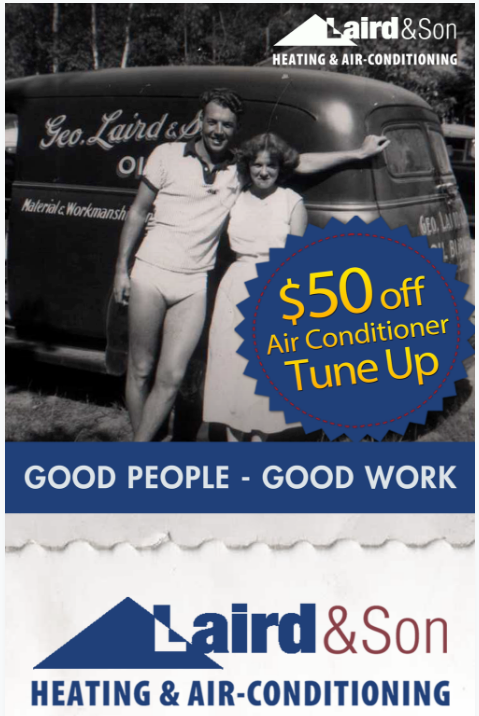 Laird & Son $500 Off Air Conditioner Tune Up